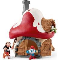 Schleich Smurf House with 2 Figurines 20803