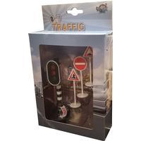 Trafikljus & Skyltar