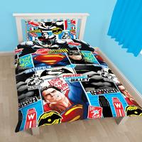 DC Comics Childrens/Boys Batman V Superman Clash Reversible Single Duvet