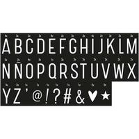 A Little Lovely Company Monochrome Letter Set Lysbokse