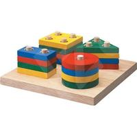 Plantoys Geometric Sorting Board