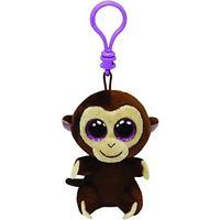 TY Beanie Boo Key Clip Monkey Coconut