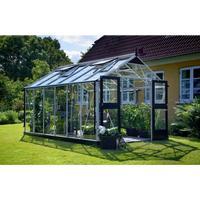 Juliana Premium 13m² Aluminum Aluminium Fundament inkl. Inklusive