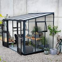 Juliana Veranda 6.6m² Aluminum Aluminium Fundament inklusive Inklusive