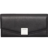 Calvin Klein Kate Large Trifold Wallet Svart
