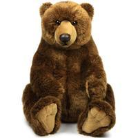 Legetøjseksperten.dk WWF Plush-Grizzly Bear sitting, 47 cm