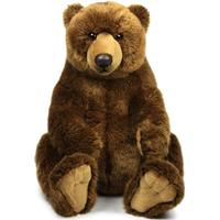 WWF Plush-Grizzly Bear sitting, 47 cm
