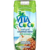 Vita Coco Kokosvatten Ananas 330ml,12 st (delas ej)