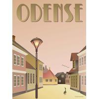 Vissevasse Odense Ælling 50x70cm Plakater