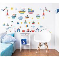 Walltastic Nautical Wall Stickers 44845