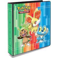 Pokemon, pärm för lösa plastfickor - 3 ringspärm - XY (Chespin / Froakie / Delphox)
