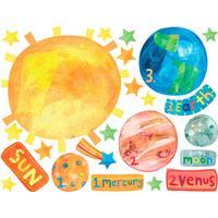 Wallies Solar System Vinyl Decals