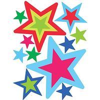 Wallies Stars in Stars Vinyl Decals