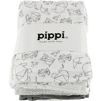 Pippi Muslinfilt/Tygblöjor 8-pack Sleet