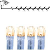 Star Trading LED ljusslinga 80 transp varmvit