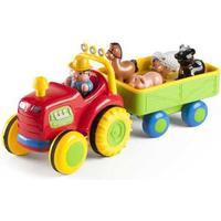 Baby Buddy Traktor med Anhænger Og Dyr