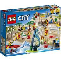 Lego City Figursæt – sjov ved stranden 60153