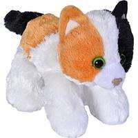 "Wild Republic Calico Cat Stuffed Animal 7"""