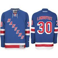 Reebok New York Rangers Home Premier Jersey Lundqvist 30. Sr