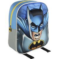 Batman Ryggsäck Junior 3D Motiv Skolväska 31x27x10cm