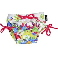 Swimpy Badblöja Flowers - Floral/White