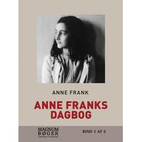 Anne Franks Dagbog: (storskrift), Hardback
