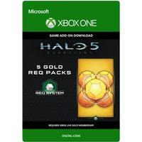 Halo 5 - Guardians - 5 Gold REQ Packs