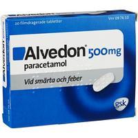 läkemedel med paracetamol