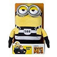 Posh Paws Despicable Me 3 Jail Minion Tom Soft Toy (Medium)