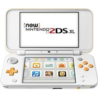 Nintendo New 2DS XL - White/Orange