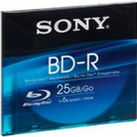 Sony BD-R 25GB 6x Slimcase 1-Pack