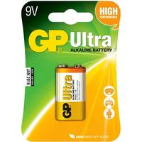 GP Batteries 1604AU 9V Ultra 1pack