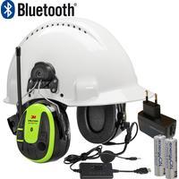 3M Peltor hörselskydd med hjälmfäste WS Alert XPI inkl laddpaket