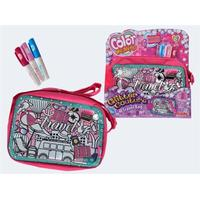 Simba Color Me Mine Travel Bag Glitter Couture 3 Pens