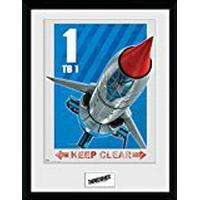 GB Eye Thunderbirds are Go Hazard Tb1 30x40cm Poster Plakater