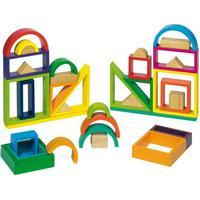 Gollnest & Kiesel Rainbow Blocks (38 pieces)