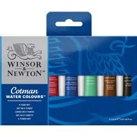 Winsor & Newton Cotman Water Color 8ml 6-pack