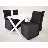Skånska Möbelhuset Matgrupp Brixton: Bord inklusive 4 st stolar
