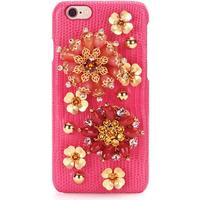 Embellished leather iPhone 6 case