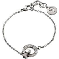 Edblad Eternity Orbit Stainless Steel Bracelet w. Transparent Cubic  Zirconia - 19cm 0cd6c770bf3ec