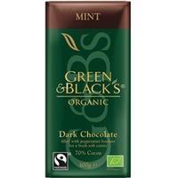 Green & Black's Green & Blacks Dark Chocolate Mint