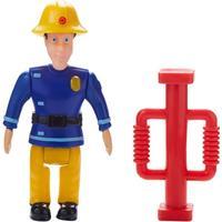 Fireman Sam - Figure and Accessory - Elvis with Door Ram