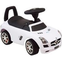 Baby Mix Gåbil Mercedes Vit