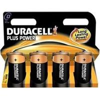 Duracell Plus Power D (4 pcs)