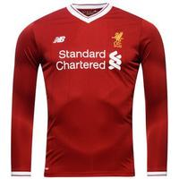New Balance Liverpool Home LS Jersey 17/18 Sr