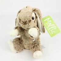 Molli Toys Grå-brun kanin tøjdyr fra Molli Toys