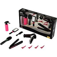 Klein Mega Hairstyling Set with Braun Satin Hair 7 5873