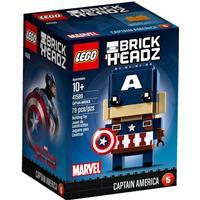 Lego Brick Headz Captain America 41589