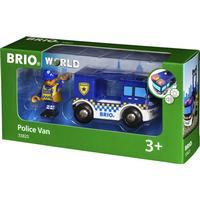 Brio Police Van 33825