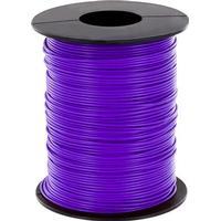 BELI-BECO Flätad kabel 1 x 0.25 mm² Violett BELI-BECO L125VI25 25 m
